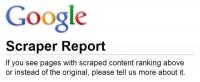 """Google đã công bố """"mẫu báo cáo"""" tố cáo nội dung sao chép"""